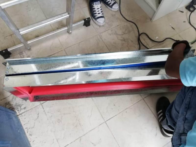 Instalación de aire acondicionado en Archivo físico