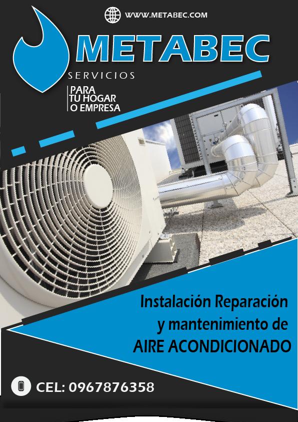 Instalación y mantenimiento de aire acondicionado climatización Ibarra Imbabura Ecuador
