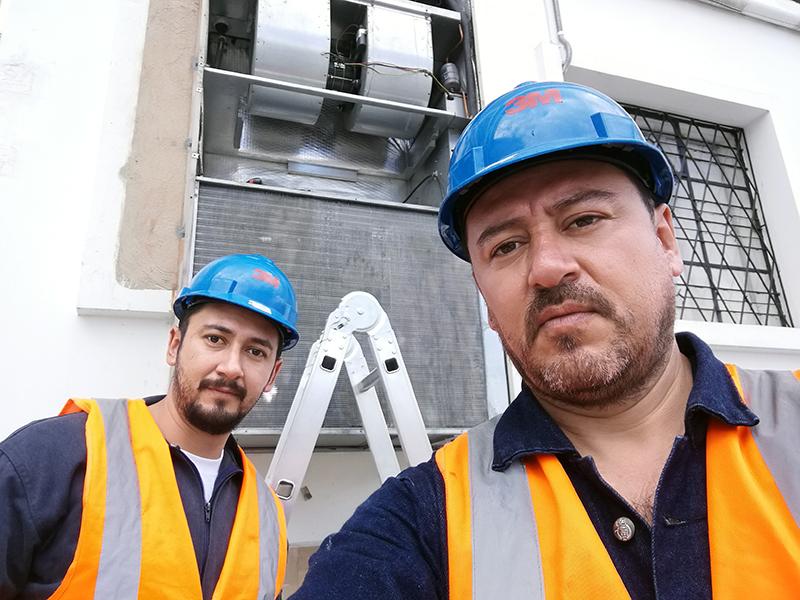 Instalación reparación y mantenimiento de aire acondicionado Ibarra Imbabura