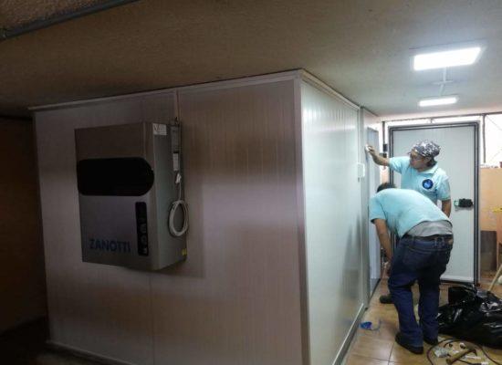 Instalación de Cámara frigorífica