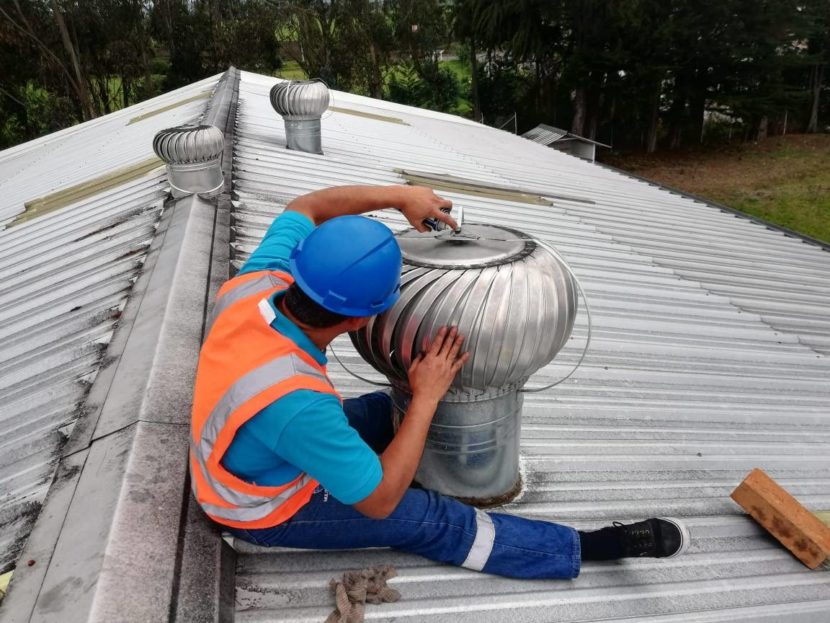 Venta, Instalación y Mantenimiento de Extractores Eólicos Ibarra Ecuador