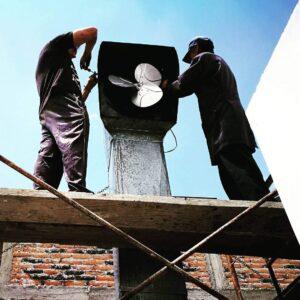 Mantenimiento de Ductos de extracción, campanas y extractores Atuntaqui